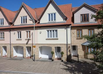 Thumbnail 3 bed town house for sale in Wherry Road, Norwich