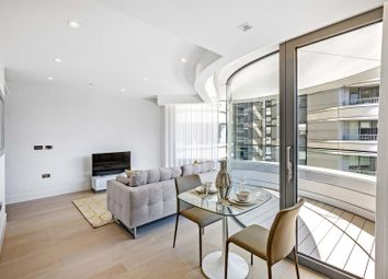 Thumbnail 1 bedroom flat for sale in Tower One, The Corniche, 20 Albert Embankment, Nine Elms, London