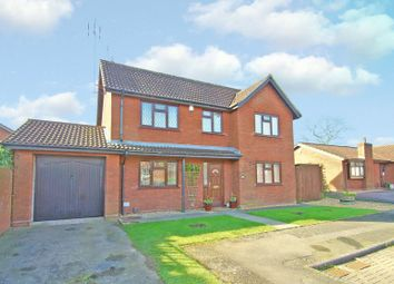 Thumbnail 4 bed detached house for sale in Eldersfield Close, Beoley, Redditch