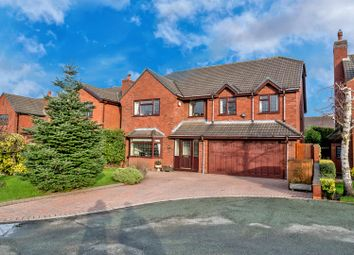 Thumbnail 4 bed detached house to rent in Oakdene Close, Cheslyn Hay, Walsall