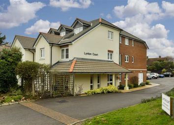 Thumbnail 1 bed flat for sale in Lynton Court, Epsom, Surrey
