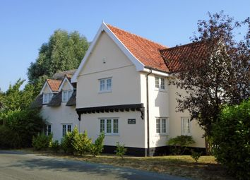 Thumbnail 4 bed detached house for sale in Wyverstone Road, Bacton, Stowmarket