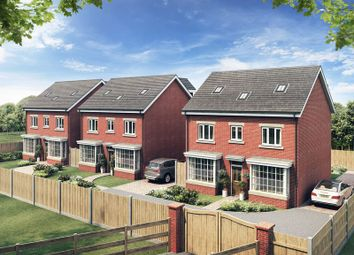 Thumbnail 5 bed detached house for sale in The Gravel, Mere Brow, Preston