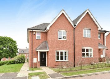 Thumbnail 3 bed semi-detached house for sale in Bushfield Court, New Cardington, Bedford