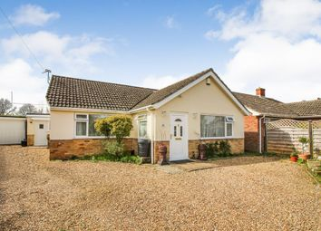 Thumbnail 2 bed detached bungalow for sale in Carol Close, Stoke Holy Cross, Norwich