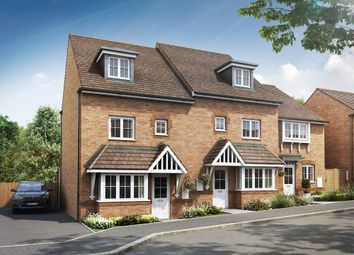 "Thumbnail 4 bedroom semi-detached house for sale in ""Woodvale"" at Robell Way, Storrington, Pulborough"