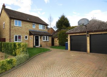 Thumbnail 4 bed detached house for sale in Beauvoir Place, Yaxley, Peterborough