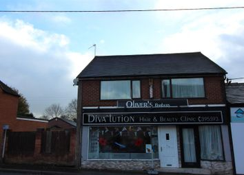 Thumbnail 2 bed flat to rent in Uttoxeter Road, Blythe Bridge, Stoke-On-Trent