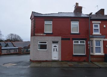 Thumbnail 2 bed terraced house to rent in Wycherley Road, Tranmere, Birkenhead