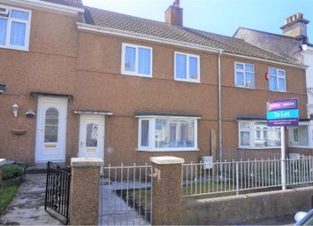 Thumbnail 3 bed terraced house to rent in Alcester Street, Plymouth