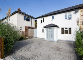 Thumbnail 4 bed semi-detached house for sale in The Fairway, London