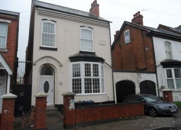 Thumbnail 1 bed terraced house to rent in Hampton Road, Aston, Birmingham
