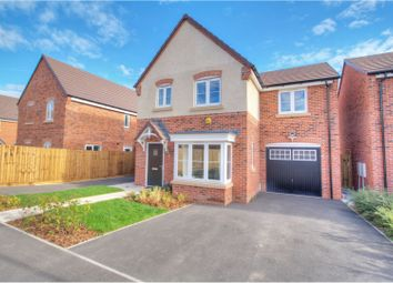 Thumbnail 4 bed detached house to rent in Windsor Way, Swadlincote