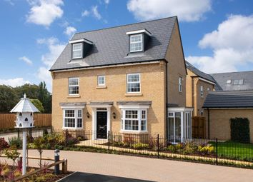 "Thumbnail 4 bed detached house for sale in ""Hertford"" at Great Hall Drive, Bury St. Edmunds"