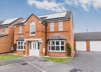 Thumbnail 4 bed detached house for sale in Lotus Court, North Hykeham, Lincoln, Lincolnshire