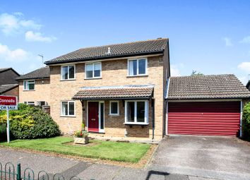 Thumbnail 4 bed detached house for sale in Carisbrook Court, Longthorpe, Peterborough