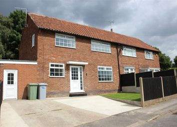 Thumbnail 3 bed semi-detached house to rent in Yew Tree Road, New Ollerton, Newark, Nottinghamshire