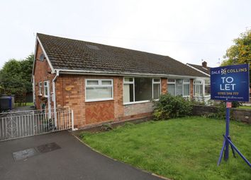 Thumbnail 2 bed bungalow to rent in Westsprink Crescent, Westonfields