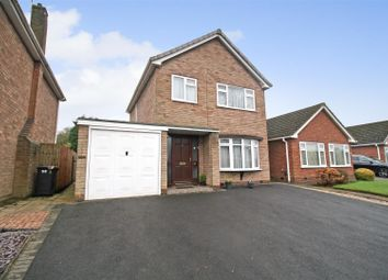 Thumbnail 3 bed detached house for sale in Wiclif Way, Nuneaton