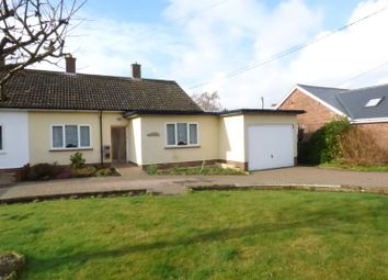 Thumbnail 3 bed bungalow for sale in Norwich Road, Stoke Holy Cross