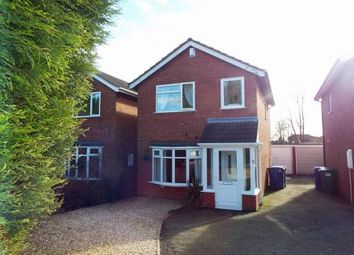 Thumbnail 3 bed detached house for sale in Wallace Close, Norton Close, Cannock