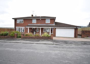 Thumbnail 4 bed detached house for sale in Off Woodland Road, Croesyceiliog, Cwmbran