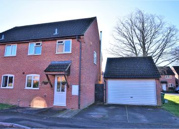 Thumbnail 3 bed semi-detached house for sale in Lipscombe Close, Newbury