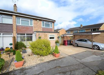 Thumbnail 4 bedroom semi-detached house for sale in Wynford Close, Reading