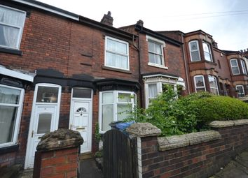 Thumbnail 2 bed terraced house to rent in Eaton Street, Northwood, Stoke-On-Trent