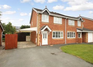 Thumbnail 3 bed semi-detached house for sale in Peverel Drive, Whittington, Oswestry