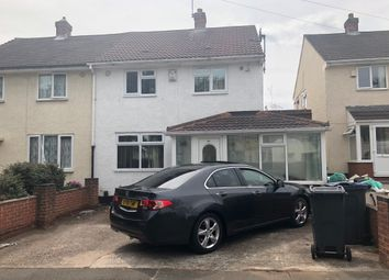 Thumbnail 3 bed semi-detached house to rent in Copplestone Close, Shard End, Birmingham