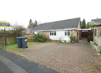 Thumbnail 2 bed semi-detached bungalow for sale in Turnlea Close, Knypersley, Biddulph