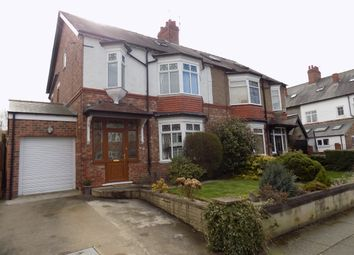 Thumbnail 4 bed semi-detached house to rent in Bracken Road, Darlington