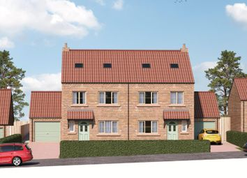 Thumbnail 4 bed semi-detached house for sale in Poplar House, Field View, Copt Hewick, Ripon