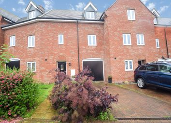 Thumbnail 3 bed town house for sale in Tempest Crescent, Shortstown, Bedford