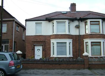 Thumbnail 3 bed semi-detached house for sale in Victoria Road, Aberavon