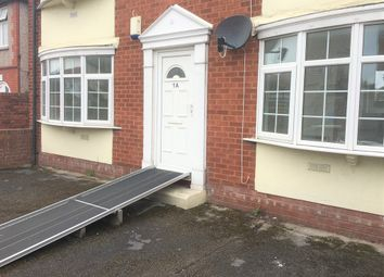 Thumbnail 1 bed flat to rent in 1A Seabank Road, Rhyl, Denbighshire