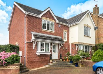 Thumbnail 4 bed detached house for sale in Heol Fioled, Barry