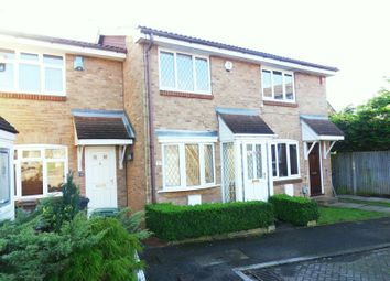 Thumbnail 2 bed terraced house to rent in Pytchley Close, Luton