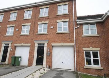 Thumbnail 3 bed town house to rent in Bannister Road, Braunstone, Leicester