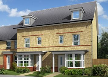 "Thumbnail 4 bed semi-detached house for sale in ""Woodbridge"" at Fen Street, Brooklands, Milton Keynes"