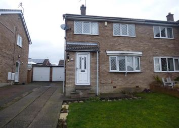 Thumbnail 3 bed semi-detached house to rent in Rainborough Road, Wath-Upon-Dearne, Rotherham
