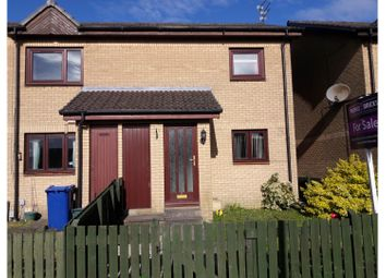 Thumbnail 2 bed flat for sale in Greenlaw Crescent, Paisley