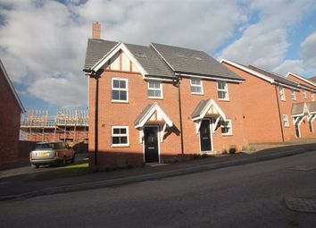Thumbnail 3 bed semi-detached house to rent in Walpole Way, Boughton, Northampton