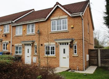 Thumbnail 2 bed end terrace house for sale in Brookhey, Hyde, Cheshire