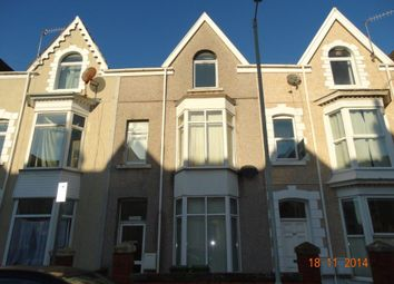 Thumbnail 6 bed terraced house to rent in Gwydr Crescent, Uplands Swansea