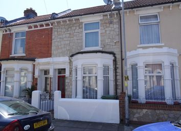 Thumbnail 3 bedroom terraced house to rent in Essex Road, Southsea