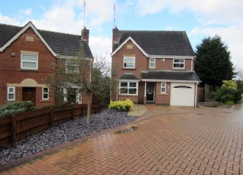 Thumbnail 4 bed detached house for sale in Greenvale Close, Stapenhill, Burton-On-Trent