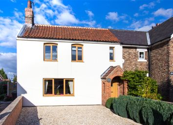Thumbnail 3 bed equestrian property for sale in Main Street, Kelfield, York, North Yorkshire