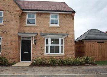 Thumbnail 3 bed semi-detached house to rent in Baumgartner, Godmanchester, Huntingdon